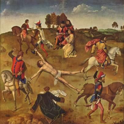Martyrdom of St. Hippolytus