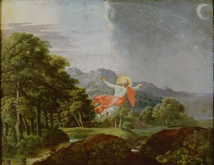 Genesis Cycle: Separation of Day and Night by Jacob Bouttats (end of 17th century)