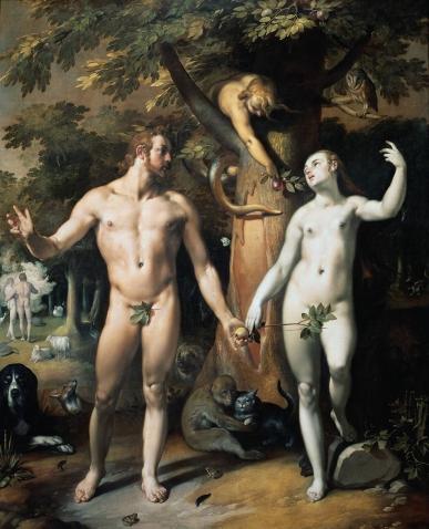Cornelis_van_Haarlem_De_zondeval_Adam_and_Eve