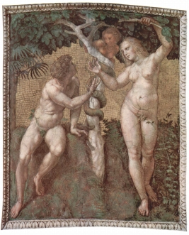 Rafael_Santi_Adam_i_Ewa_Adam_and_Eve