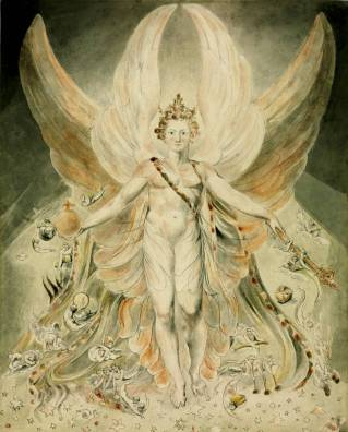 Satan in his Original Glory: 'Thou wast Perfect till Iniquity was Found in Thee' circa 1805 by William Blake 1757-1827