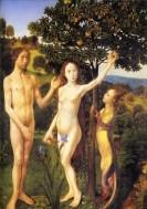 'The Temptation' – Hugo van der Goes, 1470