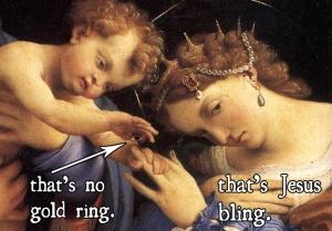 Jesus bling
